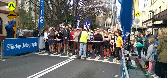 Sydney Harbour 10km – 39:47 – a planned Personal Worst