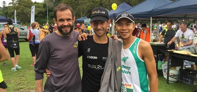 Balmain 10km Fun Run – 2nd Place (33:45)