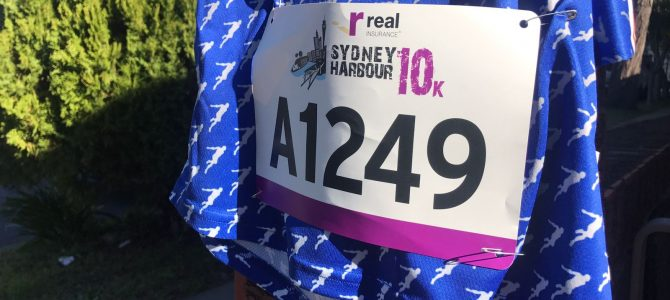 Sydney Harbour 10k – 20th in 32:52